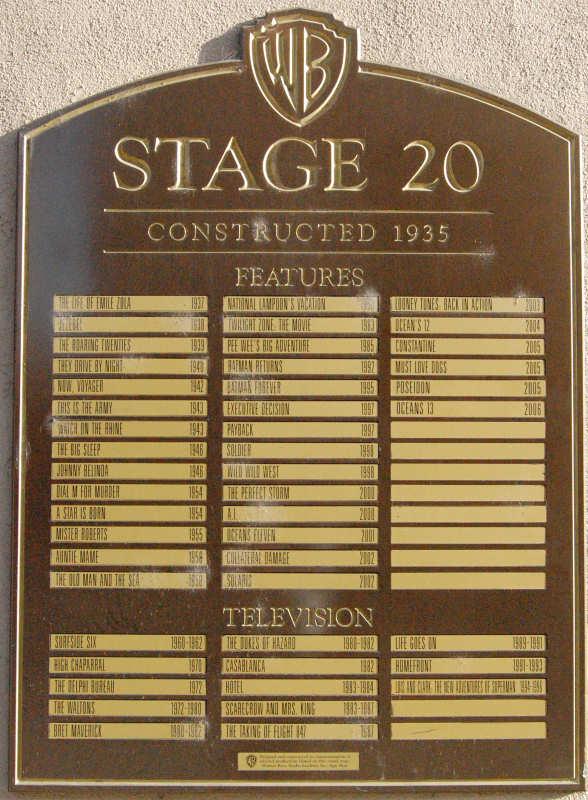 Thestudiotour Com Warner Bros Studios Stage 20