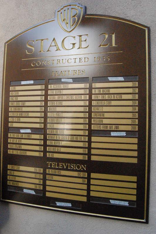 Thestudiotour Com Warner Bros Studios Stage 21